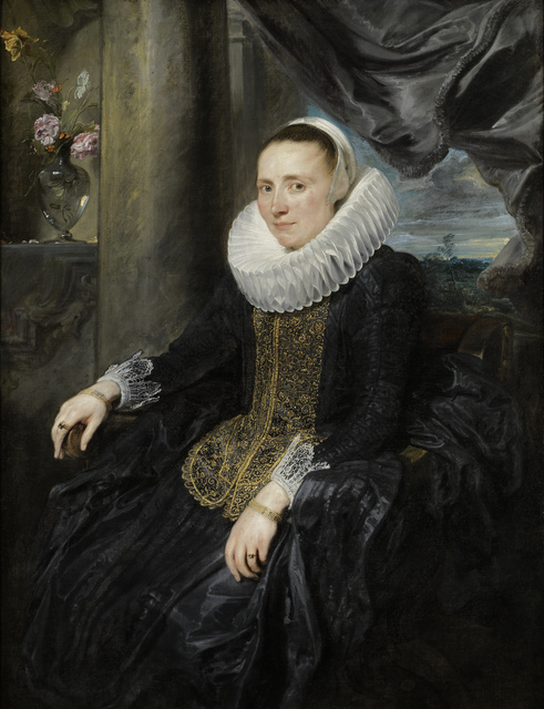 , 'Margareta de Vos,' 1620, The Frick Collection