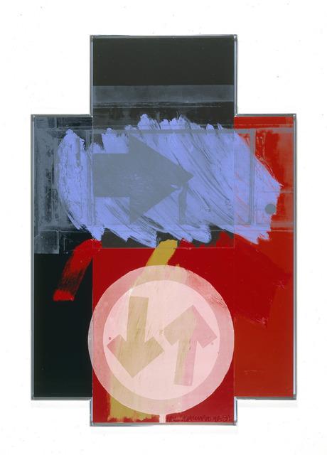 Robert Rauschenberg, 'Street Archer (Urban Bourbon)', 1992, Gagosian