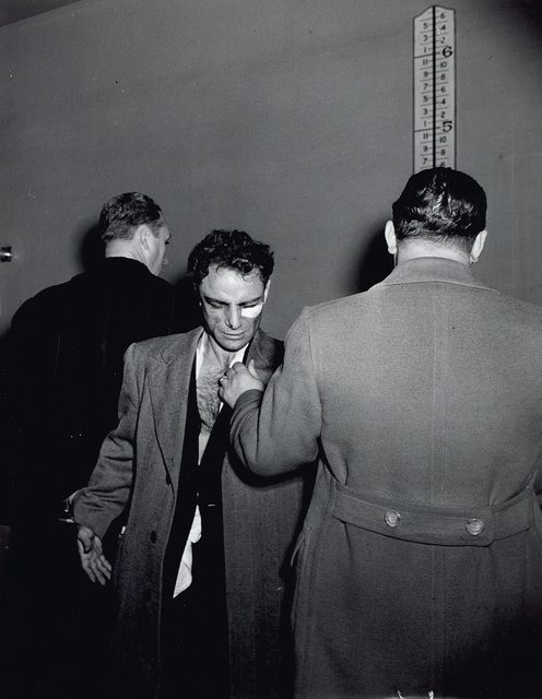 Weegee, 'Anthony Esposito, Accused 'Cop Killer,' January 16', 1941, Phillips