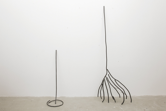 , 'Abetare (Broom with Dust Pan),' 2015, ChertLüdde