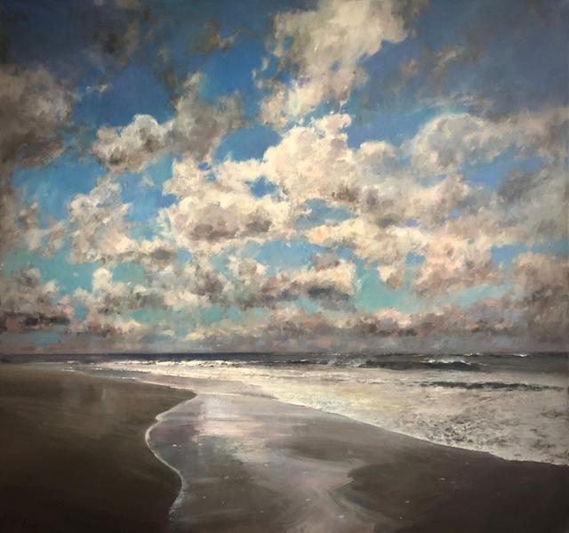 Julyan Davis, 'Clearing Skies II', 2019, Painting, Oil on canvas, Helena Fox Fine Art