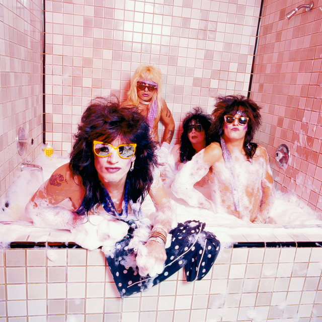 Mick Rock, 'Motley Ctue Bubble Bath ', 1986, Mouche Gallery