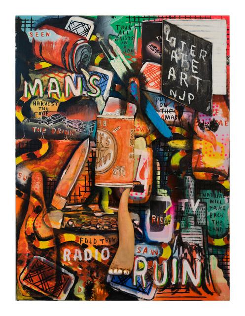 , 'Man's Ruin,' 2017, Gallery 16