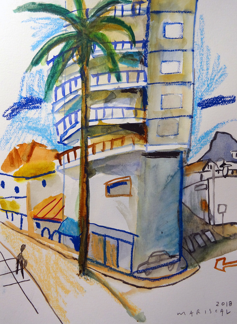 , 'Apartamentos en el puerto de Jávea,' 2018, Pepita Lumier