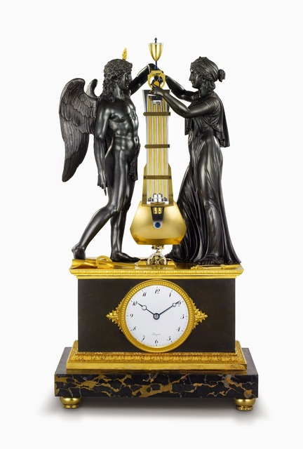 , 'Decorative, precision clock,' 1806, Legion of Honor