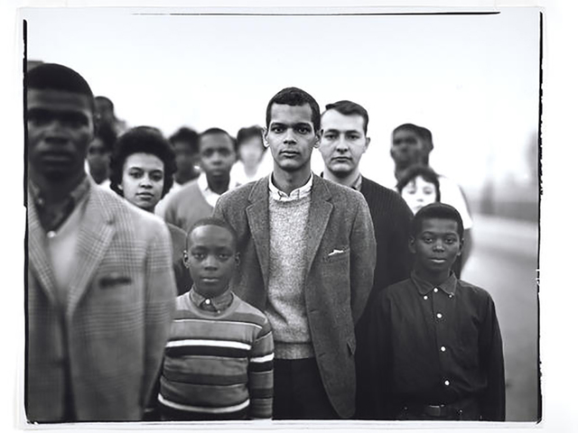 Richard Avedon, 'Student Non-Violent Coordinating Committee headed by Julian Bond, Atlanta Georgia March 23', 1963, Galerie Julian Sander