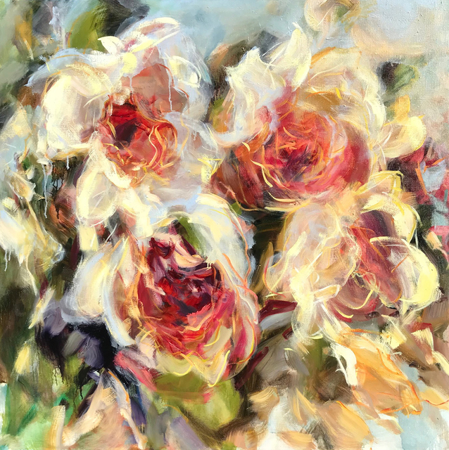 , 'Roses in a Hazy Light,' 2018, Bau-Xi Gallery