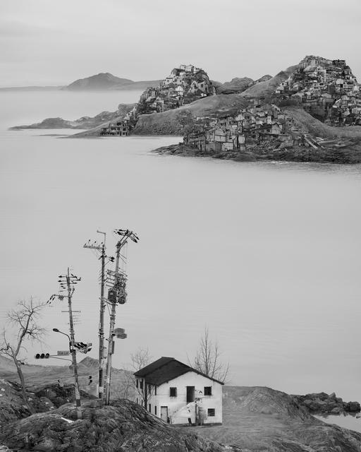 , 'Lone House,' 2016, CFHILL