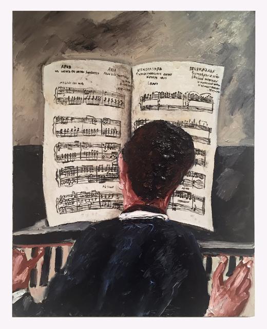 , 'Grieg,' 2017, Hal Bromm