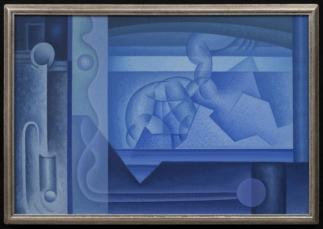 Raymond Jonson, 'Abstraction in Blue', 1930, Aaron Payne Fine Art