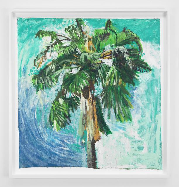 , 'Sky and Palm Tree Head #1,' 2012, David Zwirner