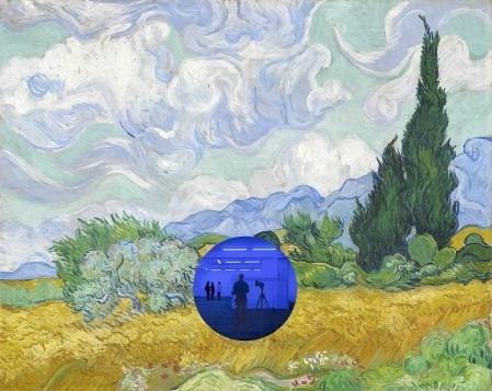 Jeff Koons, 'Gazzing Ball (Van Gogh Wheatfield with Cypresses),2017', 2017, Eternity Gallery
