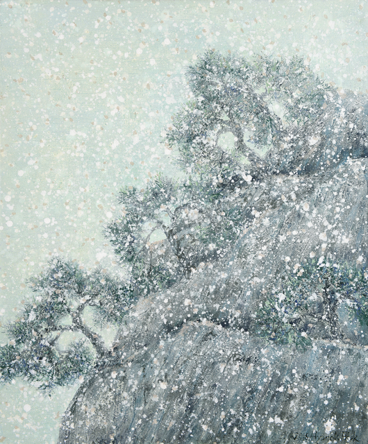 , 'Spring snow,' 2014, Gallery Jung