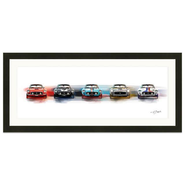 Frederic Dams, 'La Bella Cinque (Ferrari  250 SWB)| Automotive | Car', 2018, Whyte Fine Art