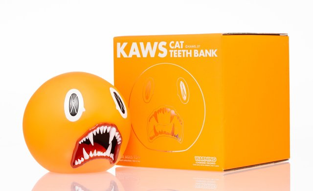KAWS, 'Cat Teeth Bank (Orange)', 2007, Heritage Auctions