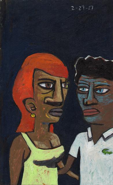 David Lambert, 'Couple', 2016, LeMieux Galleries
