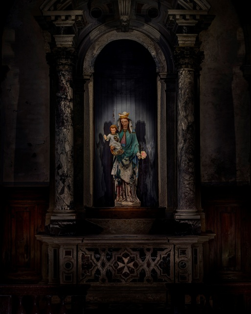 , 'Chiesa di San Clemente - Maria,' 2016, Lucia Mendoza