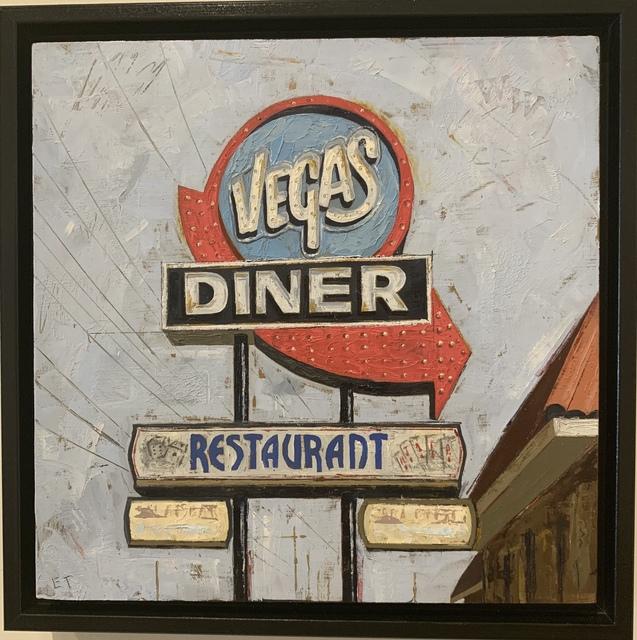 ", '""Vegas Diner"",' 2019, Parlor Gallery"