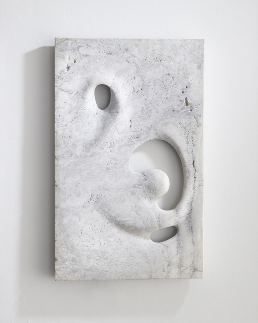 , 'Illuminated wall sculpture in hand-carved white travertine. ,' 2016, R & Company