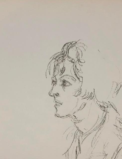 Alberto Giacometti, 'Lithographe', 1964, Other, Original Lithograph, Inviere Gallery