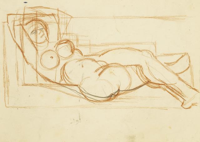 Marie Vorobieff Marevna, 'Nude Study', Roseberys