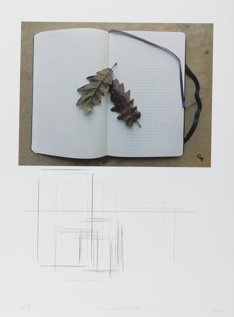 """, '""""notas para o outono"""" (col. I/V) #6/8,' 2018, Galeria Miguel Nabinho"""