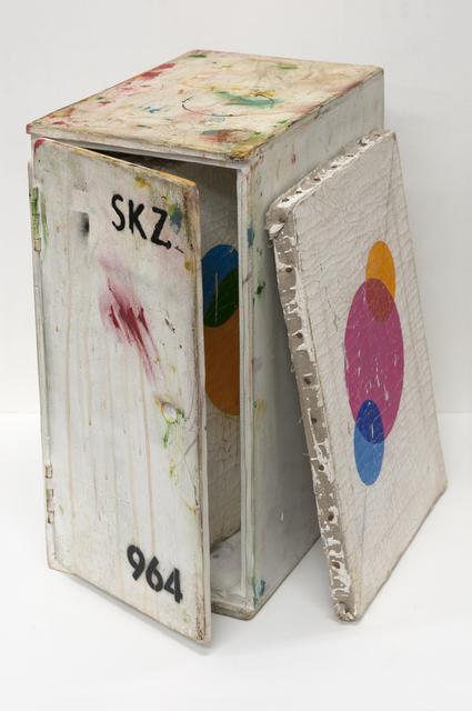 , 'SKZ Student Painting Storage Box Number 964 : Andrea Dohner, Frankl Grendelmeyer, Heidi Thurthaler, Helga Hirt, Marcel Trüb, Roesli Willig, Silva Girsperger, Urs Spoerri,' 2018, PRAZ-DELAVALLADE