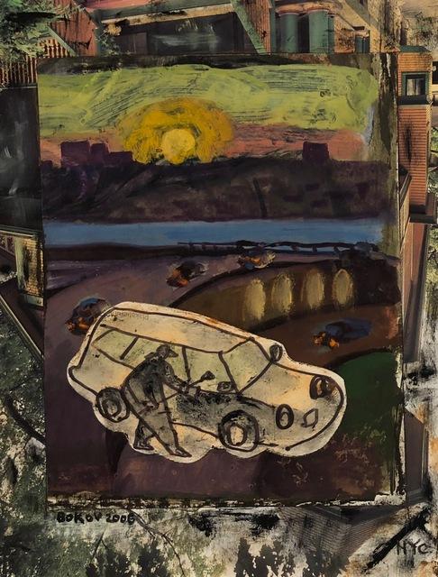 , 'Squeegee,' 2006, Van Der Plas Gallery