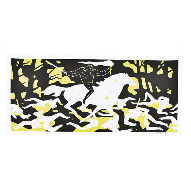 Cleon Peterson, 'VICTORY', 2016, Print, Screenprint, Silverback Gallery
