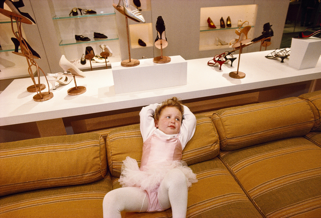 , 'Phoebe, 3, at the VIP opening of Barneys department store in Beverly Hills, California,' 1994, Fahey/Klein Gallery