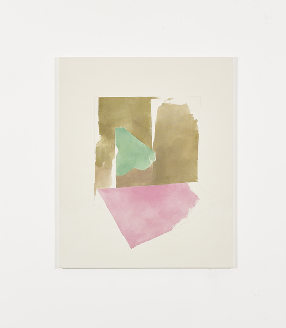 Peter Joseph, 'Ochres, green and pink (October 2014)', 2014, Galerie Greta Meert