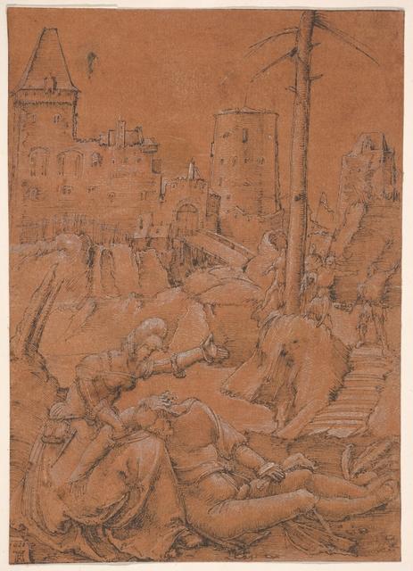 Albrecht Altdorfer, 'Samson and Delilah', 1506, The Metropolitan Museum of Art