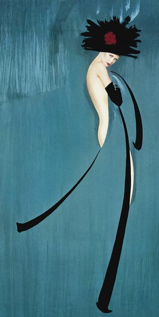 , 'Hommage à Gruau,bleu,,' 1991, Bernheimer Fine Art