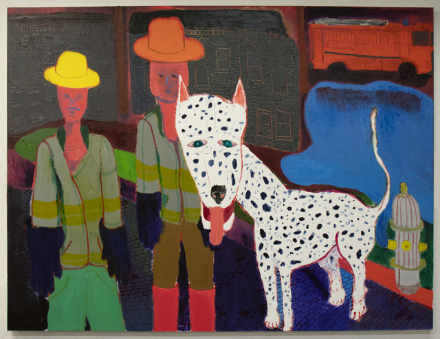 , 'Firefighters,' 2018, Page Bond Gallery