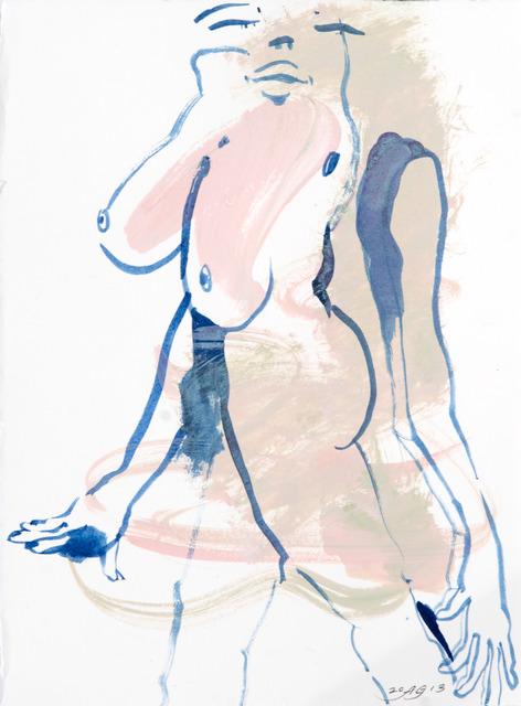 , 'Vertical Mini Drama IV:k,' 2013, Moskowitz Bayse