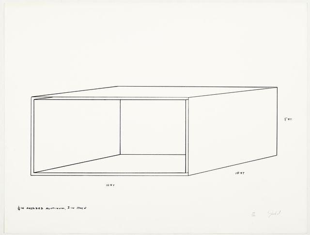 Donald Judd, 'Untitled', 1970, Koller Auctions