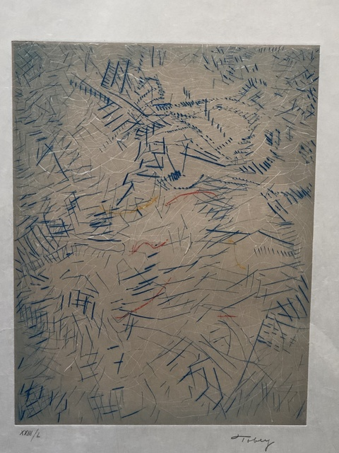 Mark Tobey, 'Of time & age', 1975, Anders Wahlstedt Fine Art