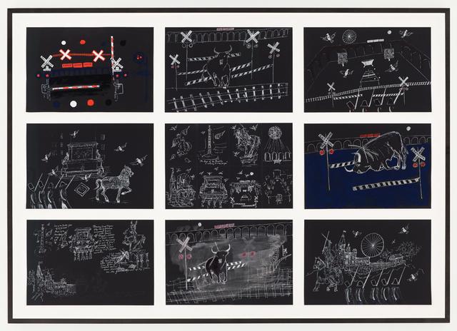 Victoria Neel, 'Les Oiseaux sans Ciel, Requiem des Fous I [Birds Without Sky, Requiem for the Mad I]', Jason McCoy Gallery
