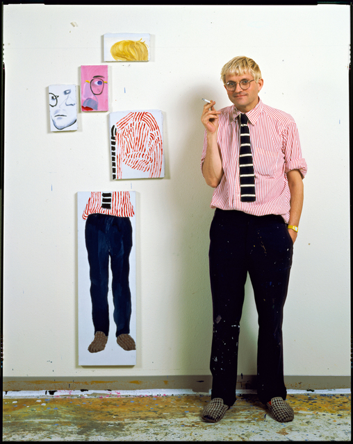 , 'David Hockney In His Studio, Los Angeles,' 1984, Timothy Yarger Fine Art