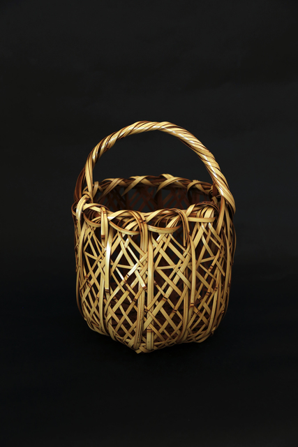 , 'White bamboo weaved flower basket,' 2017, Ippodo Gallery