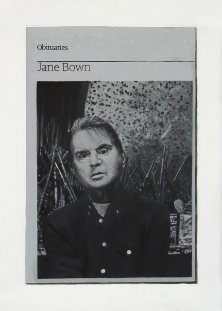 , 'Obituary: Jane Bown (Bacon),' 2015, Charlie Smith London