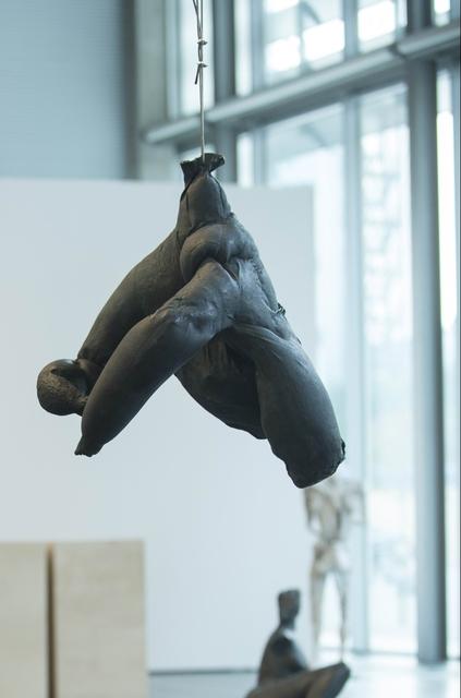 Erwin Wurm, 'Hängender Rollkragenpullover', 2011, Sculpture, Bronze, Galerie Elisabeth & Klaus Thoman