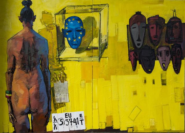 , 'World 4,' 2016, Kristin Hjellegjerde Gallery
