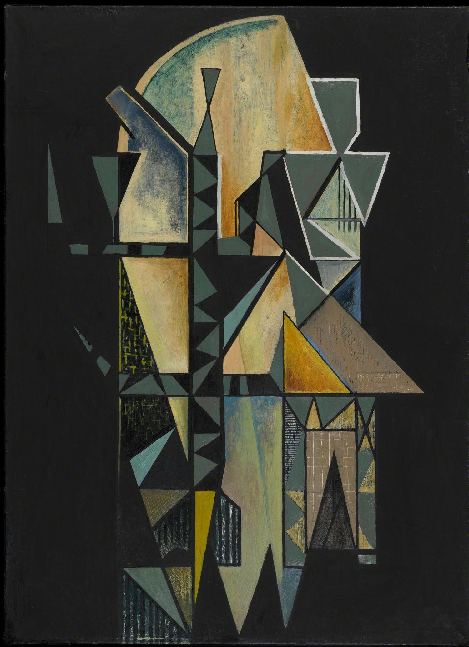 , 'Polyèdres fracturés,' 1935, Waterhouse & Dodd