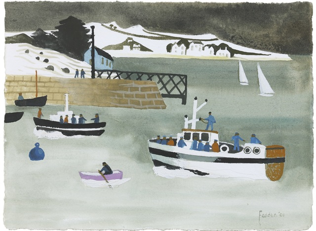 , 'Boats in a Harbour (Baltimore),' , Portland Gallery