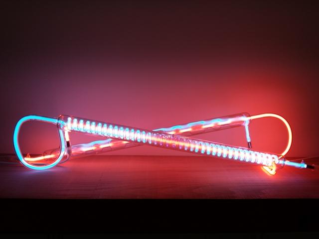 , 'Argon vs Neon,' 2016, Galerie Laurence Bernard