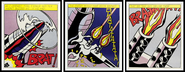 Roy Lichtenstein, 'As I Opened Fire', 1964, Denis Bloch Fine Art
