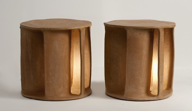 Guy Bareff, 'Pair of Illuminated Side Tables', 2014, Maison Gerard