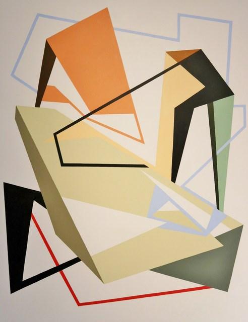 , 'Serie Intersticios N°3,' 2016, Museo de Arte Contemporáneo de Buenos Aires