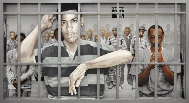 , 'American Profile #3: Prison - Industrial Complex,' 2014, Dab Art